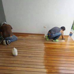 Decking Kayu 03