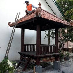 Rumah Kayu – Gazebo – Pergola 10