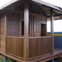 Rumah Kayu – Gazebo – Pergola 17