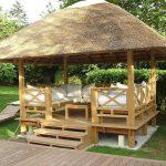 Rumah Kayu – Gazebo – Pergola 20