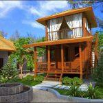 Rumah Kayu – Gazebo – Pergola 02