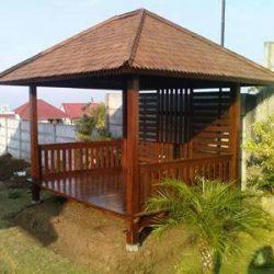 Rumah Kayu – Gazebo – Pergola 18