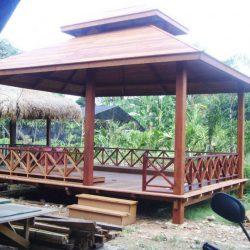 Rumah Kayu – Gazebo – Pergola 24