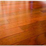 Instalasi flooring merbau sistem foam layer